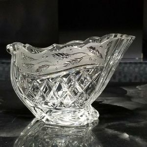 Other - Detailes GLASS Candy Dish/ Gravy Boat